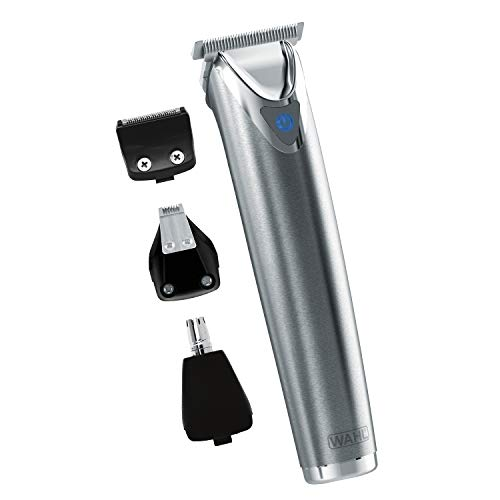 Wahl Stainless Steel Lithium Ion+ Beard and Nose Trimmer for...