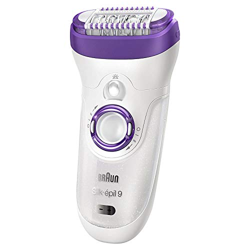 Braun Epilator Silk-epil 9 9-579, Facial Hair Removal for...